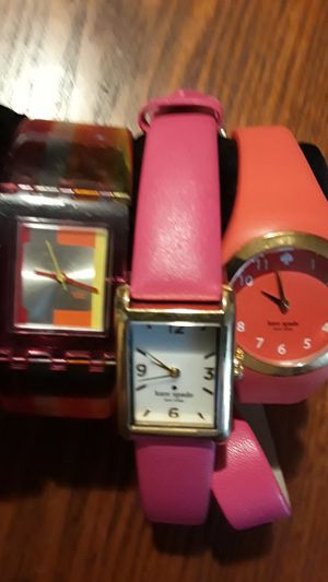 Gorgeous Kate Spade & Swatch watch . Best offer!! for Sale in New York, NY