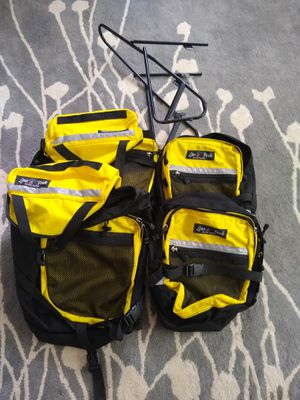Bike panniers and front rack for Sale in Salt Lake City, UT