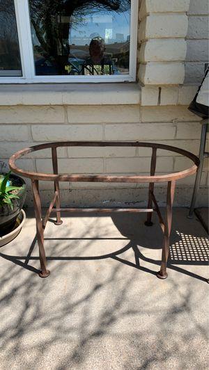 "Metal coffee table base, 31"" x 18.5"". for Sale in Phoenix, AZ"