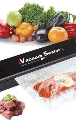 Vacuum Sealer Machine, 2021 Upgraded, Automatic Vacuum Sealer for Food Preservation, Suitable for Dry & Moist Food, Food Saver with 15 Vacuum Sealer B for Sale in Pomona,  CA