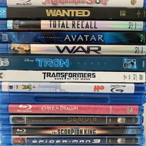 Movies in Blue-ray discs for Sale in Kent, WA
