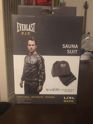 EVERLAST F.I.T brand new Sauna Suit size L/XL for Sale in Los Angeles, CA