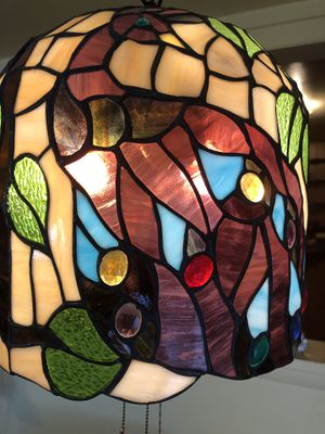 Stained glass lamp for Sale in Kensington, MD