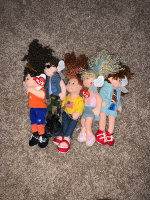 Like * NEW * TY: (5) Teanie Beanie Bopper Collection for Sale in Lake Hallie, WI