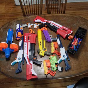 Lot of nerf gun plus ammo for Sale in Aurora, IL
