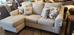 Ashley Sofa with reversible chaise for Sale in Woodbridge, VA