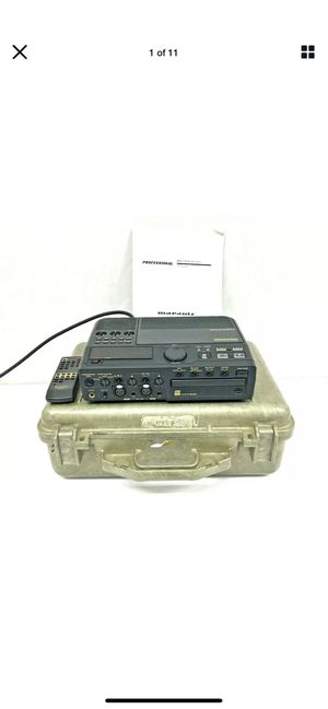 Marantz CDR300/U1B | Professional CD Recorder | Remote, Manual & Carrying Case for Sale in Irvine, CA