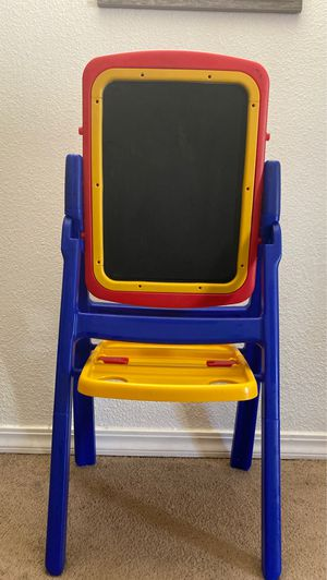 Kids learning white board and black board with Magnetic alphabets numbers for Sale in Redmond, WA