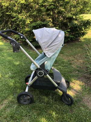 Stokke Scoot Stroller Used light blue/aqua/teal and gray ($699 new) for Sale in Franklin, TN