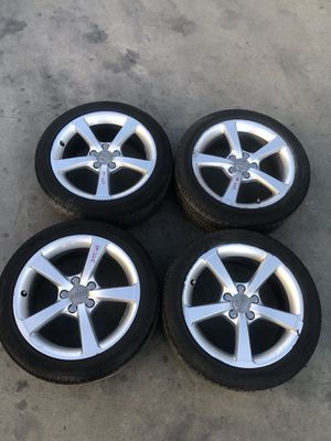 """2016 Audi A3 Set 17"""" Whees with Tires for Sale in Fontana, CA"""