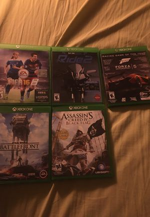 Xbox one games for Sale in Charlotte, NC