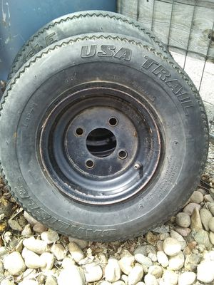 8 inch trailer tires for Sale in Thornton, CO