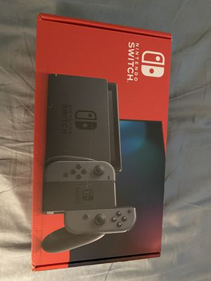 Nintendo switch gray for Sale in Boca Raton, FL