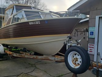 1979 19ft AMF Crestliner Norsman Day Cruiser, Aluminum Hull for Sale in Tacoma,  WA