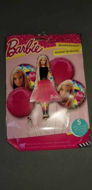 Barbie balloon bouquet new mylar for Sale in San Diego, CA