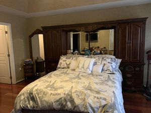 Bed board w/book case for Sale in Clifton, VA