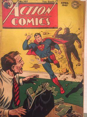 Superman rare comic book for Sale in Fairfax, VA