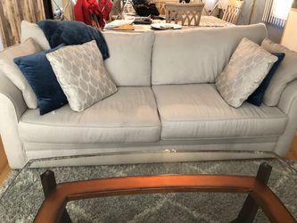 Grey couch and chairs for Sale in Staten Island,  NY