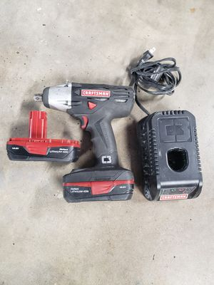 1/2in CRAFTSMAN IMPACT 19V GUN for Sale in Federal Way, WA