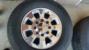 """Wheels and tires 18"""" 8 lug gmc truck for Sale in Riverside, CA"""
