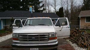 Ford f350 1996 7.3 liter diesel powerstroke crew cab long bed for Sale in Vancouver, WA