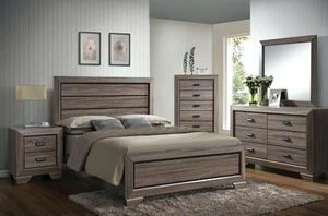 Grey 4 pc bedset 🎈🎈🎈 for Sale in Fresno, CA