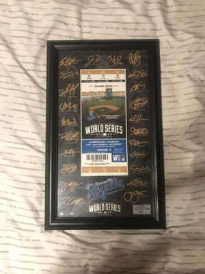 2014 ACLS Limited edition signed ticket for Sale in Saginaw, TX