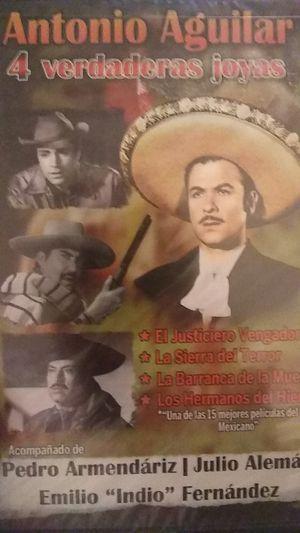 Películas de Antonio Aguilar DVD for Sale in West Puente Valley, CA