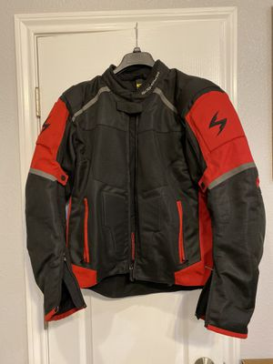Black and red scorpion jacket for Sale in San Marcos, TX