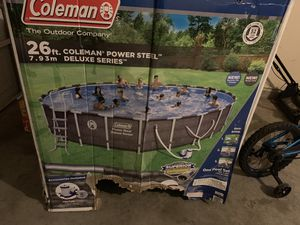 26 ft. Coleman pool for Sale in Houston, TX