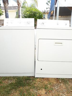 KENMORE WASHER AND GAS DRYER SET for Sale in Alta Loma, CA