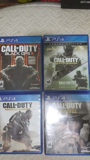 Call of Duty PS4 Games for Sale in Chicago, IL