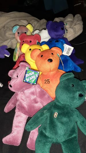 Bamm beanos beanie babies for Sale in El Paso, TX