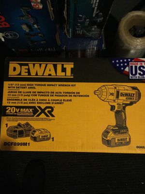 Dewalt high torque impact wrench for Sale in Cuyahoga Heights, OH