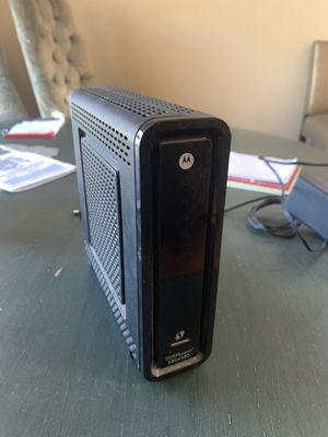 Motorola Modem/Router combo for Sale in Henderson, NV