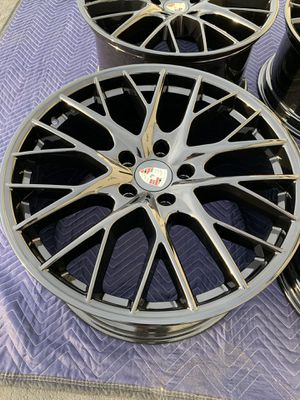 "21"" Porsche Panamera Black Factory OEM Wheels Rims for Sale in Corona, CA"