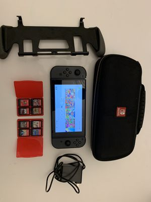 Nintendo switch Bundle + 8 Games for Sale in Miami, FL
