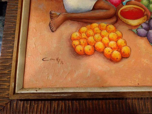 Orginal Haitian Painting by Jean Richard Coachy