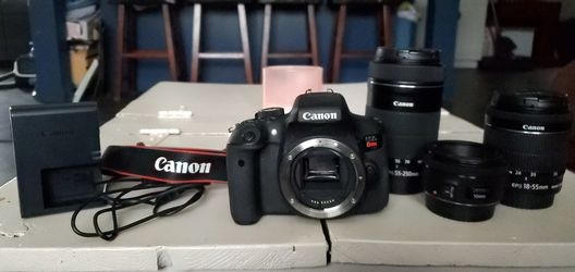 Canon Rebel T6i for Sale in Bellmead,  TX
