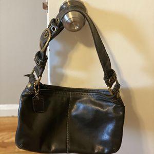 Vintage Authentic Leather Coach Purse for Sale in Dearborn, MI