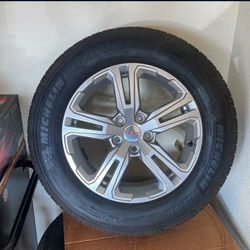 *BRAND NEW* 4 GMC RIMS W/TIRES for Sale in Madera,  CA