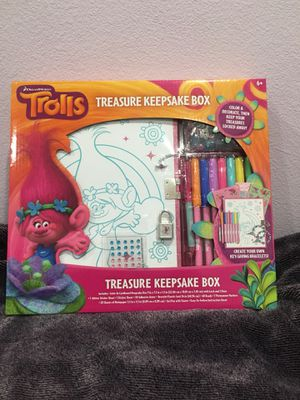 Trolls Treasure Keepsake Box for Sale in Moorpark, CA
