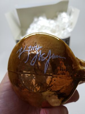 Kurt S. Adler Glass Ornament from the Polonaise Collection (Autographed) for Sale in Phoenix, AZ