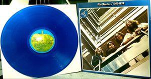 The Beatles 1967-1969 Very Rare German Apple Blue Vinyl 172-05 309/10 for Sale in Los Angeles, CA