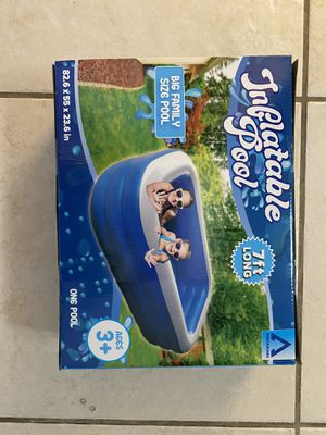 Inflatable 7 foot pool for Sale in Tampa, FL