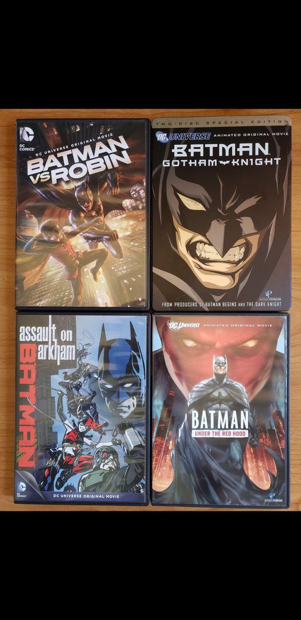 Batman animated movie bundle