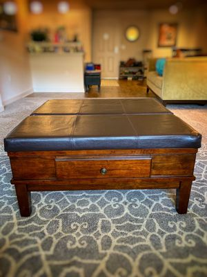Coffee Table, Ottoman, Desk Extension for Sale in San Diego, CA