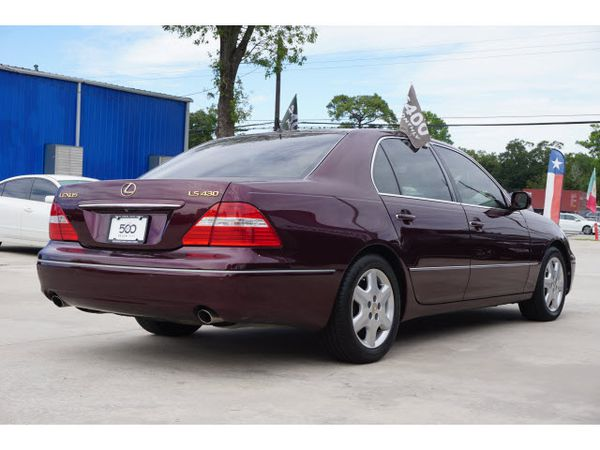 2004 Lexus LS