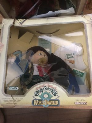 Cabbage patch kids world traveler Spain for Sale for sale  Fremont, CA