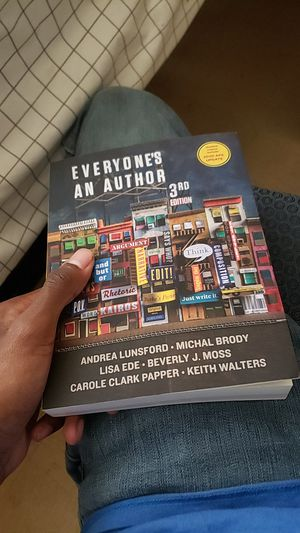 Everyone's an author 3rd edition for Sale in Murfreesboro, TN